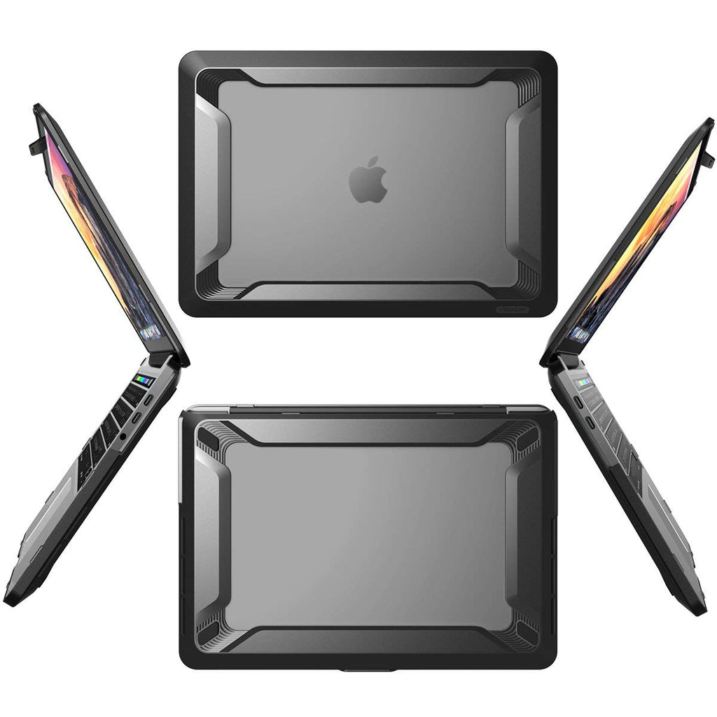 Place to buy DUAL-LAYER HYBRID HEAVY DUTY RUGGED CASE FOR MACBOOK PRO 15 INCH WITH TOUCH BAR MODEL- BLACK FROM I-BLASON online in Australia free shipping & afterpay. Australia Stock