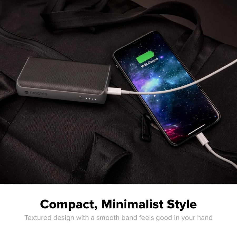 black power bank from mophie for all smartphone. buy online and get free shipping Australia Stock