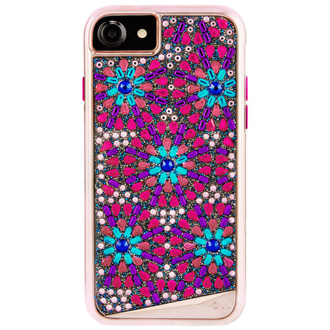 CASEMATE BRILLIANCE TOUGH GENUINE CRYSTAL CASE FOR iPHONE 8 /7 - BROOCH