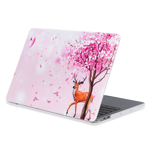 Macbook air 13 hardshell cover with cherry blossom design from flexii gravity Comes with free express Australia shipping & local warranty.