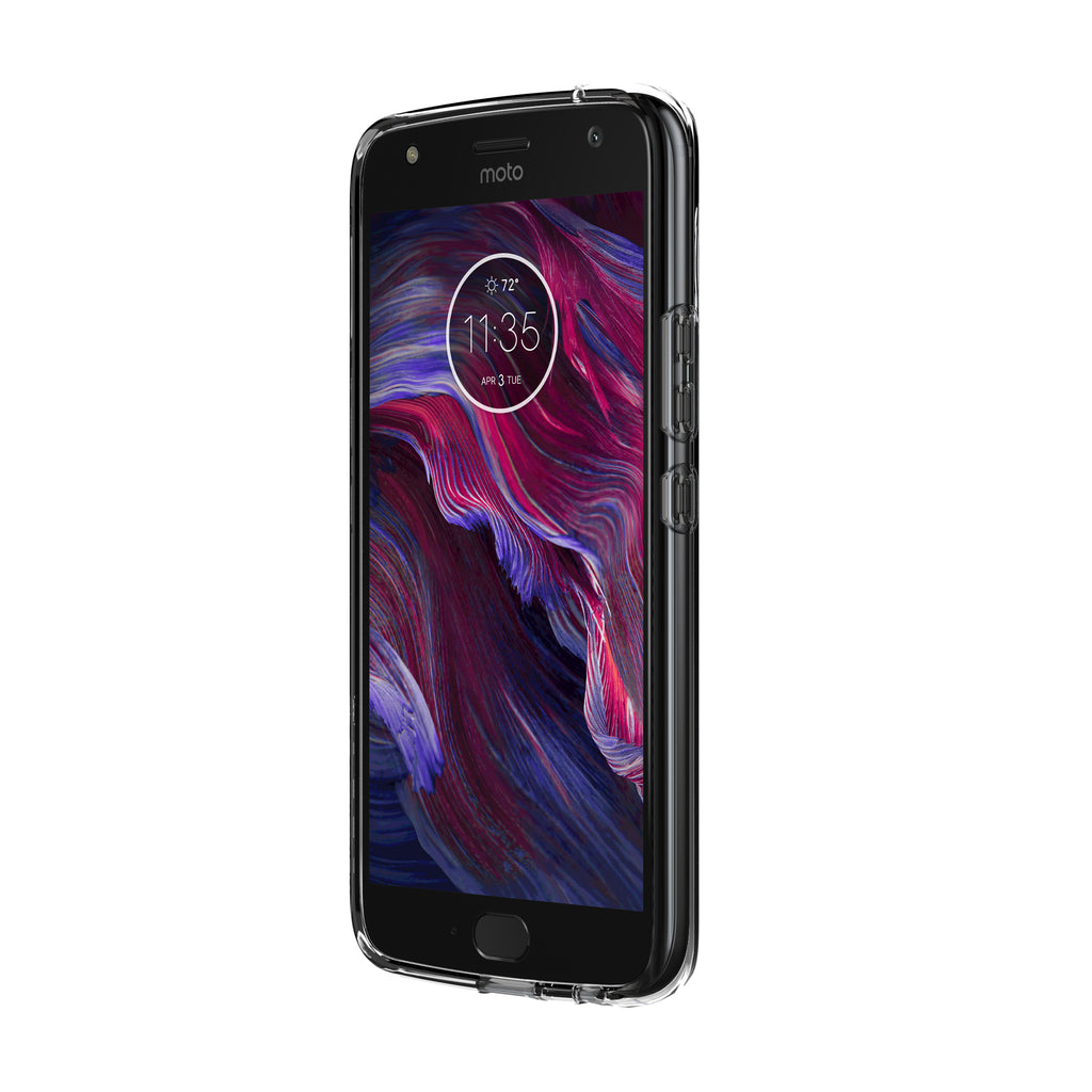 Incipio Ngp Pure Slim Polymer Case For Moto X4 Clear Australia Australia Stock