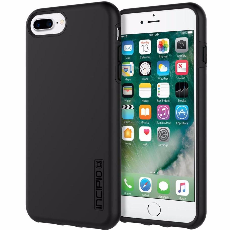 place to order Incipio DualPro Shock-Absorbing Plextonium Case for iPhone 8 Plus/7 Plus/6s Plus - Black australia Australia Stock
