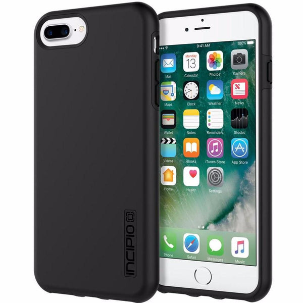 place to order Incipio DualPro Shock-Absorbing Plextonium Case for iPhone 8 Plus/7 Plus/6s Plus - Black australia
