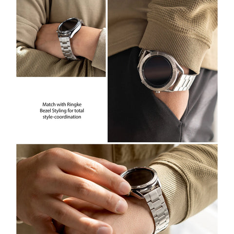Shop online the new metal watch band more stylish and fashion from RINGKE the Buy new watch band with high quality stainless steel for galaxy watch 3 the authentic accessories with afterpay & Free express shipping.