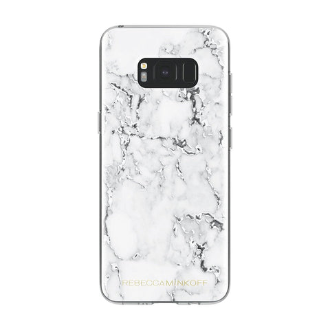 Shop Australia stock REBECCA MINKOFF SHEER PROTECTION CASE FOR GALAXY S8+ (6.2 inch) - MARBLE PRINT CLEAR/BLACK FOIL with free shipping online. Shop Rebecca Minkoff collections with afterpay