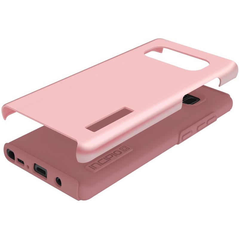 Shop Australia stock INCIPIO DUALPRO DUAL-LAYER SLIM PROTECTIVE CASE FOR GALAXY NOTE 8 - ROSE QUARTZ with free shipping online. Shop Incipio collections with afterpay Australia Stock