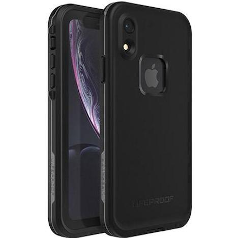 best waterproof case for iphone xr from lifeproof. black colour.drop proof and protect your device. shop now at syntricate.