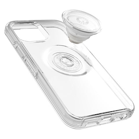 Super slim with clear popsocket case from otterbox. Iphone 12 mini will standout from others with this new design shock protection case