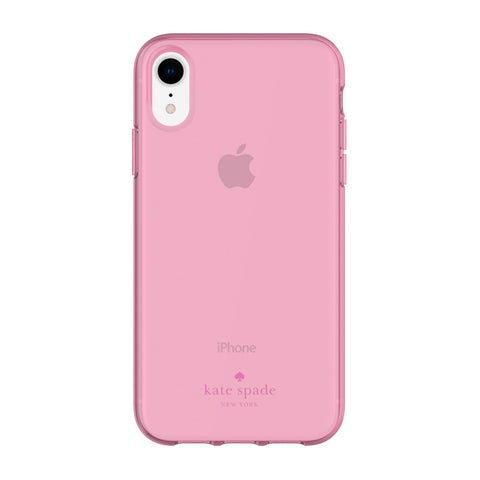 KATE SPADE NEW YORK FLEXIBLE CASE FOR IPHONE XR - PINK