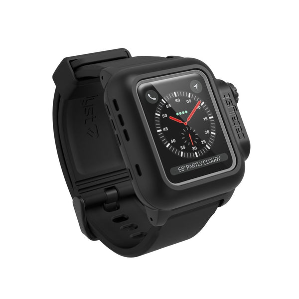 CATALYST WATERPROOF CASE FOR 38MM APPLE WATCH SERIES 3/2 - STEALTH BLACK