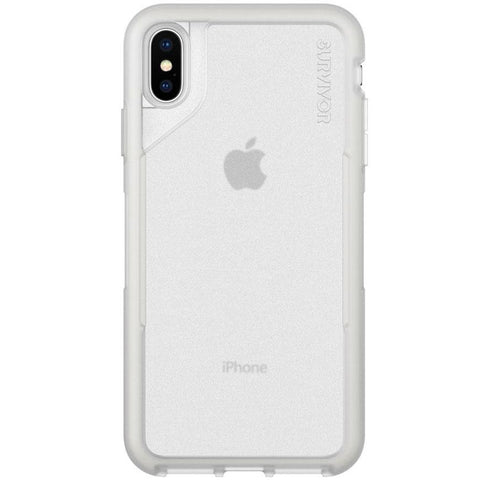 Get the latest SURVIVOR ENDURANCE CASE FOR IPHONE XS MAX - CLEAR/GRAY From GRIFFIN with free shipping online.