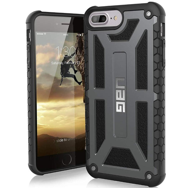 rugged case with wireless charging compatible for iphone 6 plus iphone 6s plus iphone 7 plus iphone 8 plus from uag