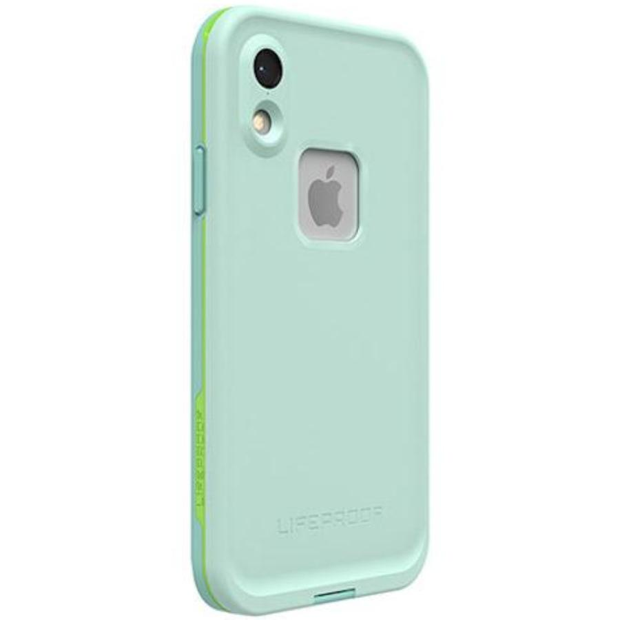 back side view of best waterproof case form lifeproof australia green colour Australia Stock