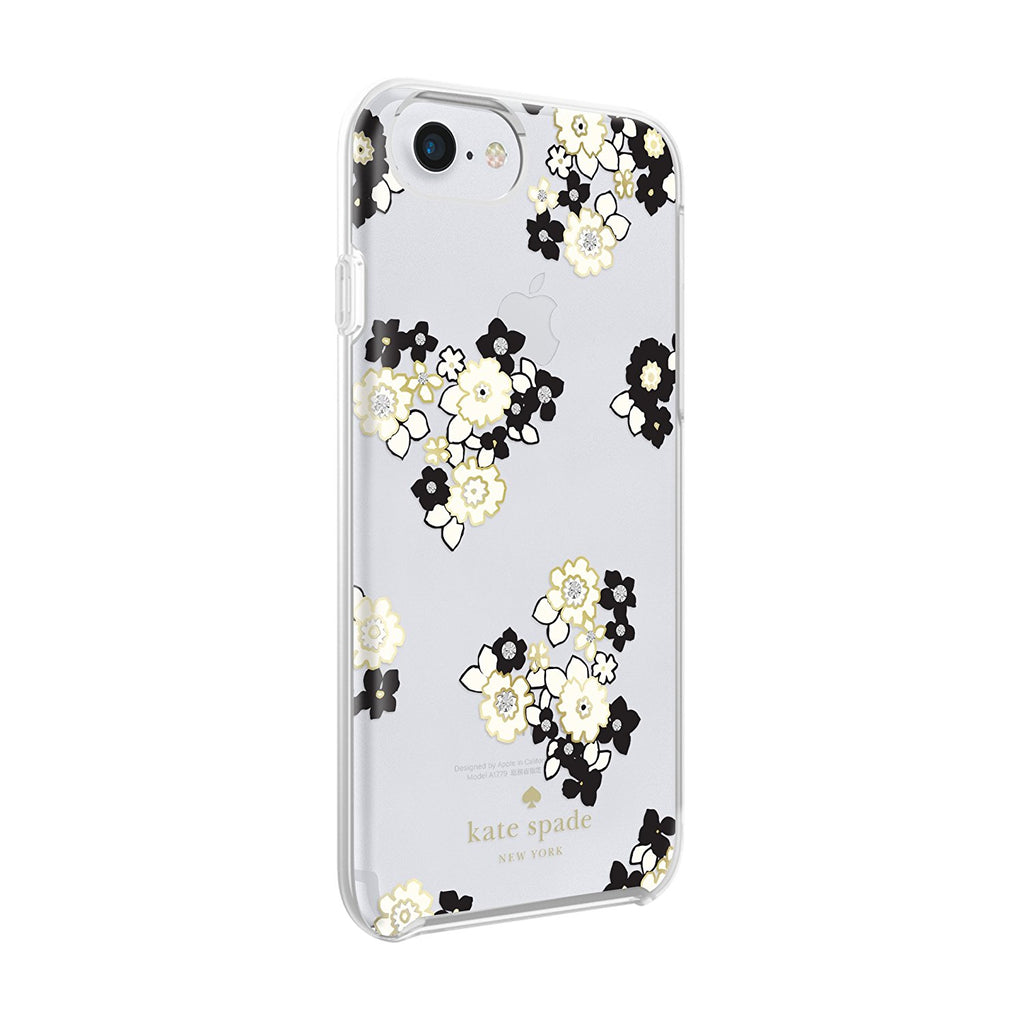Shop Australia stock KATE SPADE NEW YORK PROTECTIVE HARDSHELL CASE FOR iPHONE 8/7/6S - FLORAL BURST CLEAR/BLACK/GEMS with free shipping online. Shop Kate Spade New York collections with afterpay Australia Stock