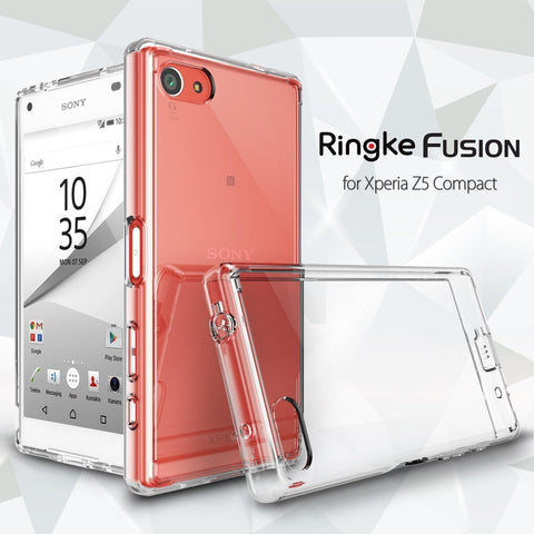 Ringke Fusion Sleek Impact case for Xperia Z5 Compact - Crystal View