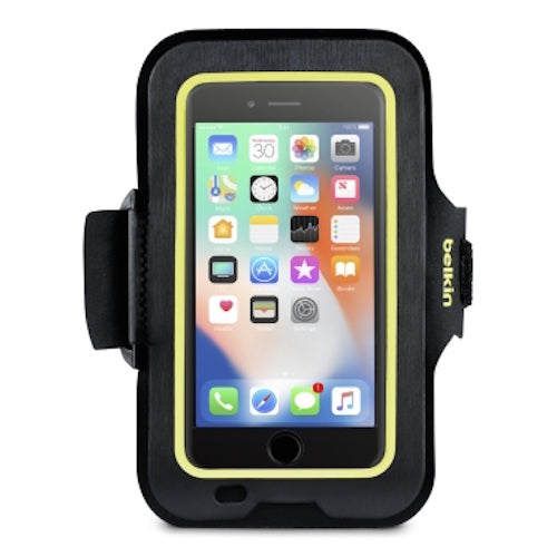 Shop Australia stock BELKIN SPORT-FIT ARMBAND FOR IPHONE 8/7/6S - BLACK/YELLOW with free shipping online. Shop Belkin collections with afterpay Australia Stock