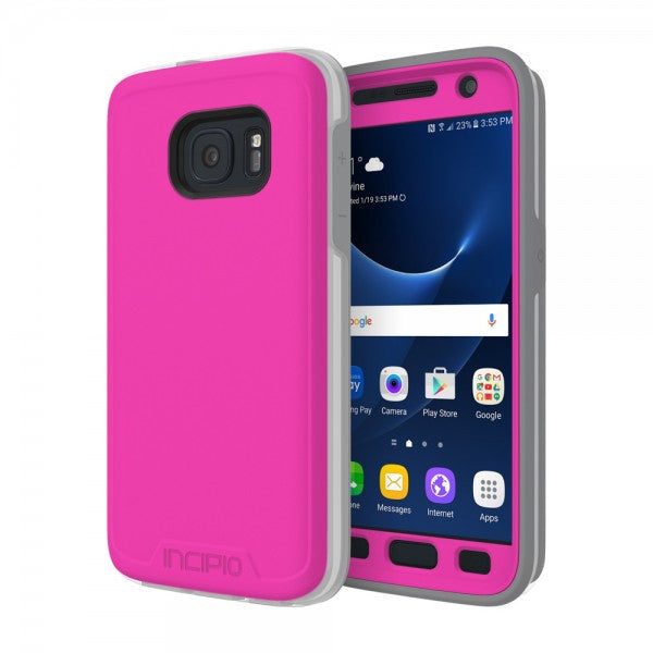 Shop Australia stock Incipio Performance Level 5 case for Galaxy S7 - Pink/Gray with free shipping online. Shop Incipio collections with afterpay