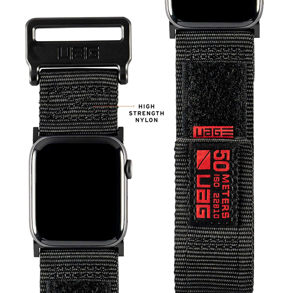 Shop Australia stock UAG ACTIVE WATCH STRAP FOR APPLE WATCH 44 MM/42 MM - BLACK with free shipping online. Shop Syntricate collections with afterpay Australia Stock