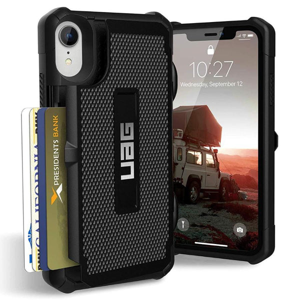 rugged case with card slot for iphone xr from uag australia. Shop All uag case collection with free Australia shipping & afterpay.