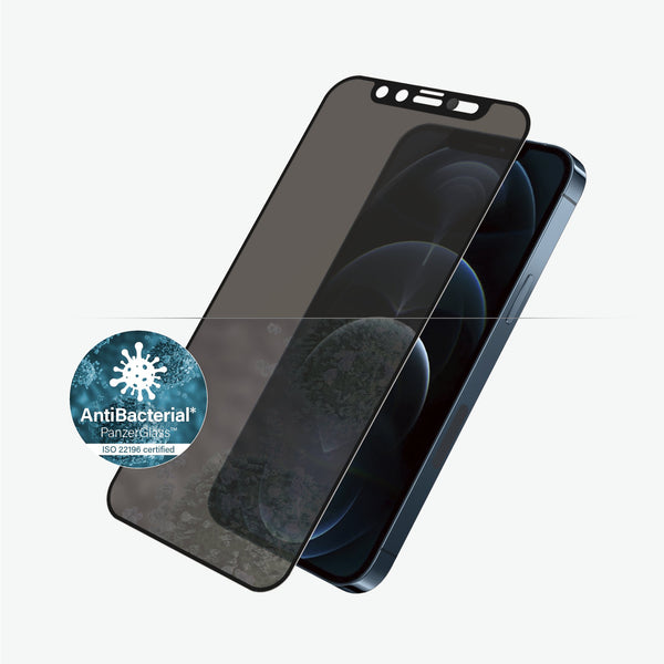 are you worried about your screen device? so you must use panzerglass screen protector for iphone 12 pro max with shock proof plus anti microbial technology