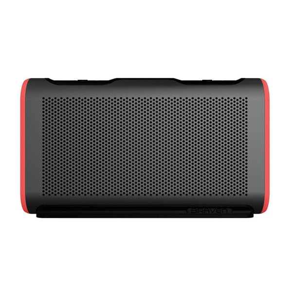 buy braven stryde australia stock, grey red a stylish waterproof speakers