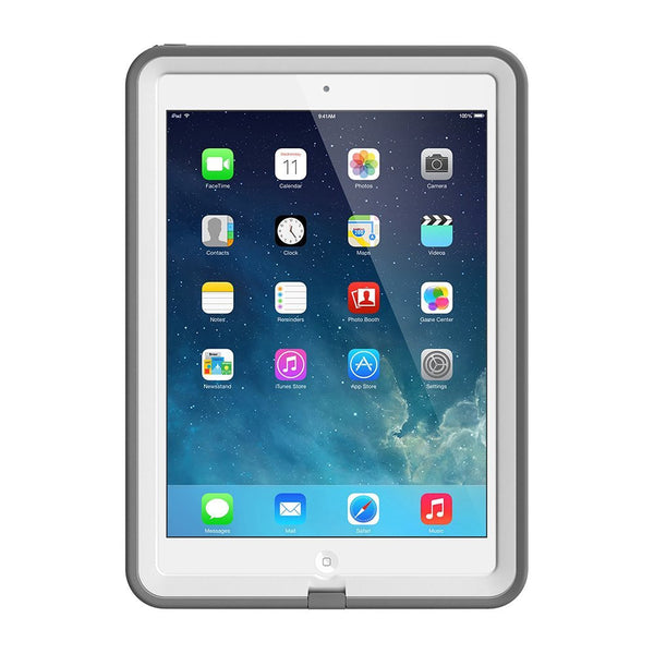 LifeProof Fre Waterproof Case for iPad Air - White/Grey
