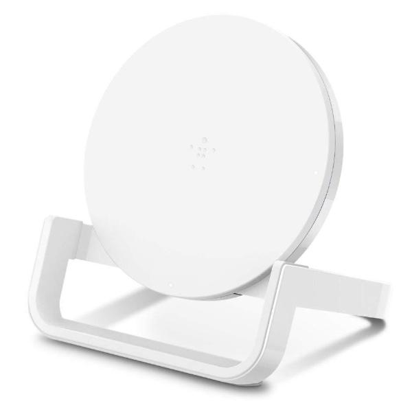 Get the latest stock QI BOOST UP WIRELESS 10W CHARGING STAND FOR IPHONE/SAMSUNG/LG/SONY - WHITE FROM BELKIN with free shipping online.