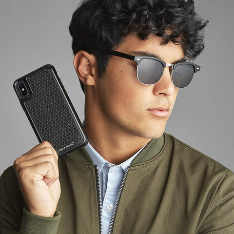Place to buy MCLAREN CARBON FIBER CASE FOR IPHONE XS MAX - BLACK FROM CASEMATE collections with afterpay.