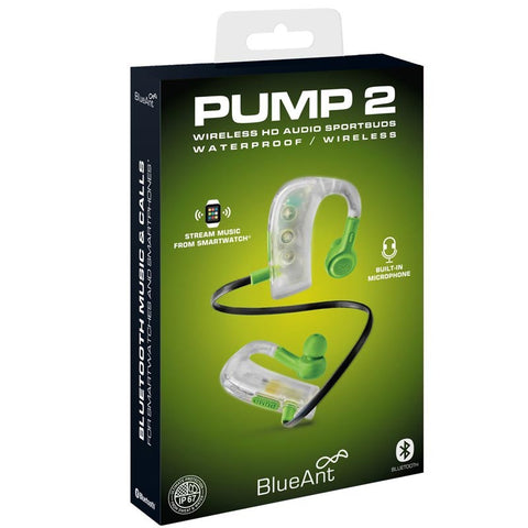 Shop Australia stock BLUEANT PUMP 2 WIRELESS HD AUDIO SPORTBUDS EARPHONES WITH MICROPHONE - GREEN ICE with free shipping online. Shop BlueAnt collections with afterpay