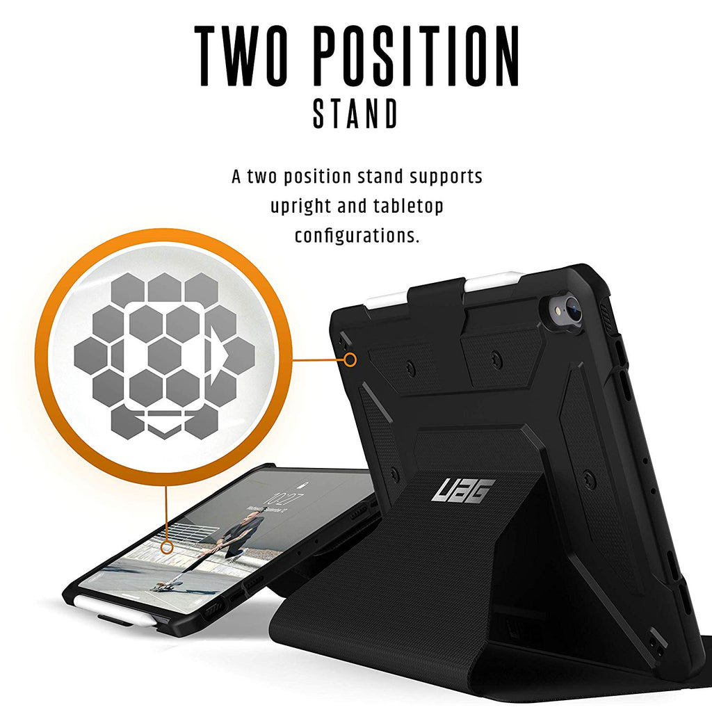 new product 65443 ce893 Ipad Pro 11-inch Metropolis Rugged Folio Case From Uag - Black Colour