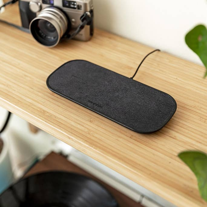 Shop Australia stock Mophie Dual Wireless Charging Fabric Pad For Qi-Enabled Devices - Black with free shipping online. Shop Mophie collections with afterpay Australia Stock