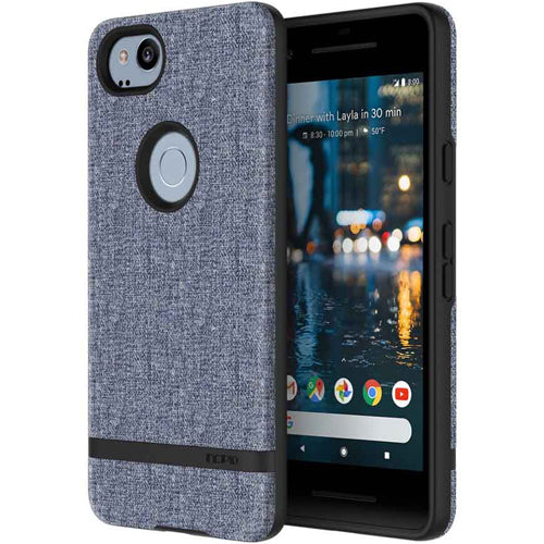 buy sleek and stylish case from incipio carnaby esquire sleek case for google pixel 2 - blue. Free express shipping from authorized distributor australia wide.