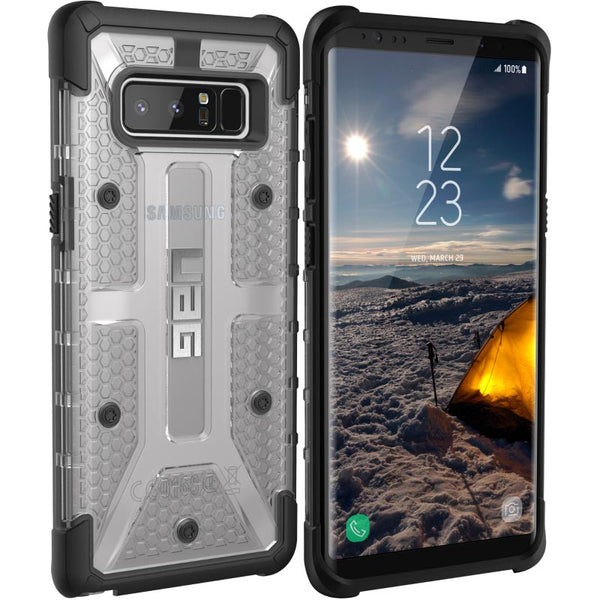 Buy Uag Plasma Rugged Armor Case For Galaxy Note 8 Ice Australia
