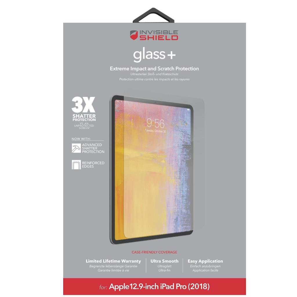 tempered glass for ipad pro 12.9 ich 2018 from zagg. buy online with free shipping australia wide Australia Stock