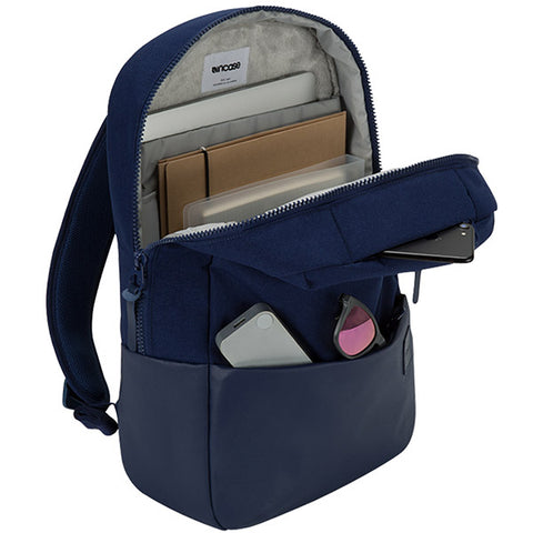 INCASE COMPASS BACKPACK BAG FOR MACBOOK UPTO 15 INCH - NAVY