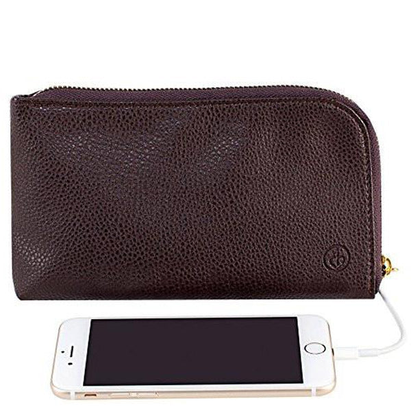 Shop Australia stock Chic Buds Clutchette Power Portable Charger Charging Purse for Universal - Chocolate with free shipping online. Shop Chic Buds collections with afterpay Australia Stock