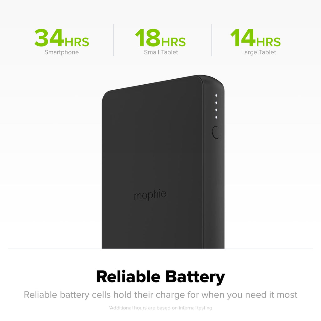 MOPHIE CHARGE STREAM POWERSTATION WIRELESS 6040mAH PORTABLE BATTERY Australia Stock