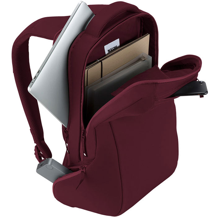 the best online store to shopping incase icon slim backpack bag for macbook deep red tab, ipad, tablet, notebook, laptop, netbook Australia Stock