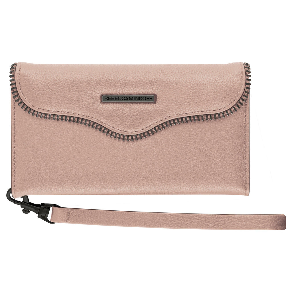 low priced 3c40f 167d8 Rebecca Minkoff M.A.B Tech Wristlet Cover for iPhone 8/7 - Nude Leather