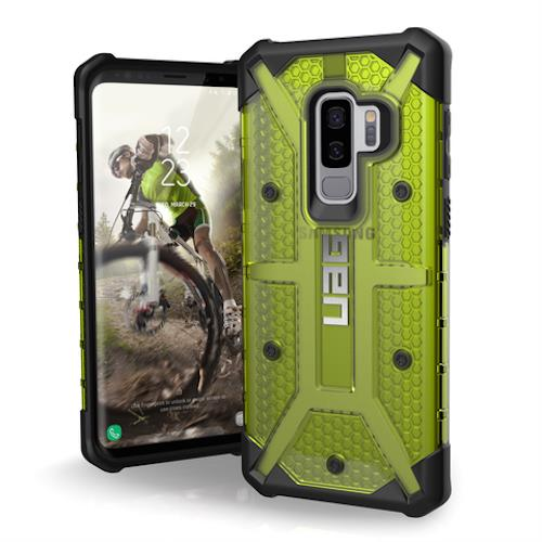 Buy new and genuine case Uag Plasma Armor Shell For Samsung Galaxy S9 Plus - Citron