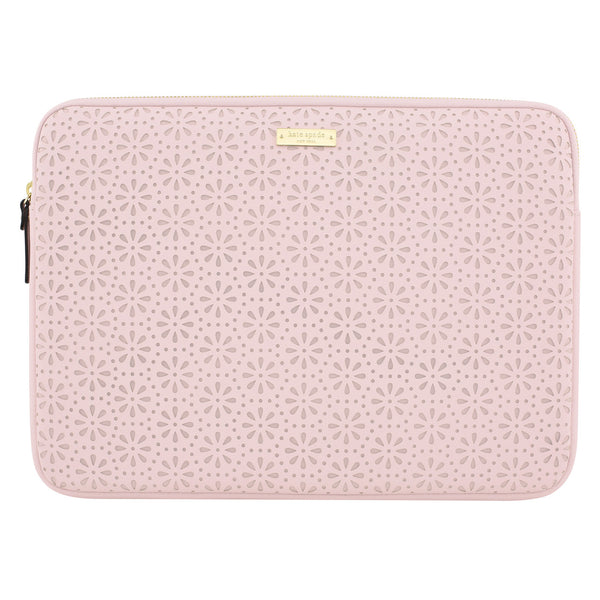 Kate Spade New York Perforated Sleeve for Macbook 13 inch - Rose Quartz