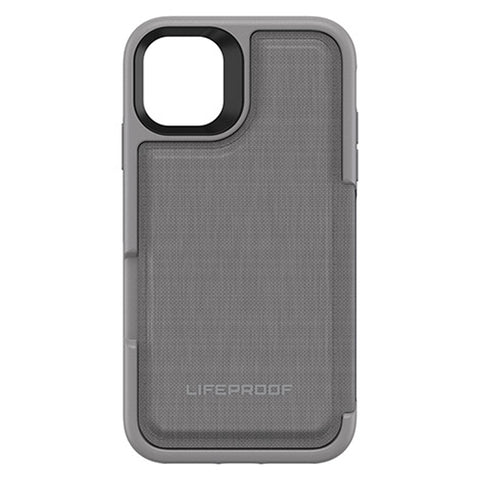 "Shop Australia stock LifeProof Flip Wallet Case  for Iphone 11 (6.1"") - Cement Surfer with free shipping online. Shop Lifeproof collections with afterpay"