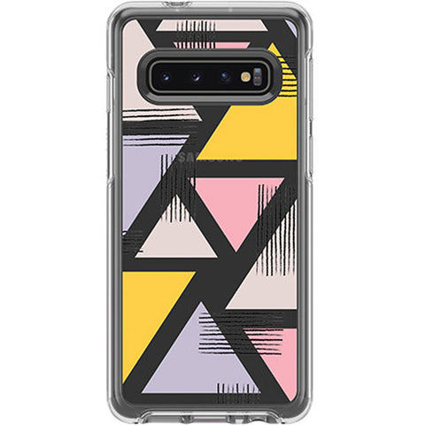 "OTTERBOX Symmetry Clear Rugged Case For Galaxy S10 (6.1"") - Love Traingle"