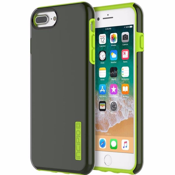 store to buy from trusted and official distributor Incipio DualPro Shock-Absorbing Plextonium Case for iPhone 8 Plus/7 Plus - Smoke/Volt. Free shipping Australia wide.
