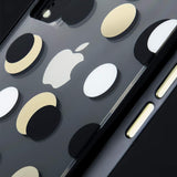 CASEMATE WALLPAPER STREET CASE FOR IPHONE XR - METALLIC DOTS