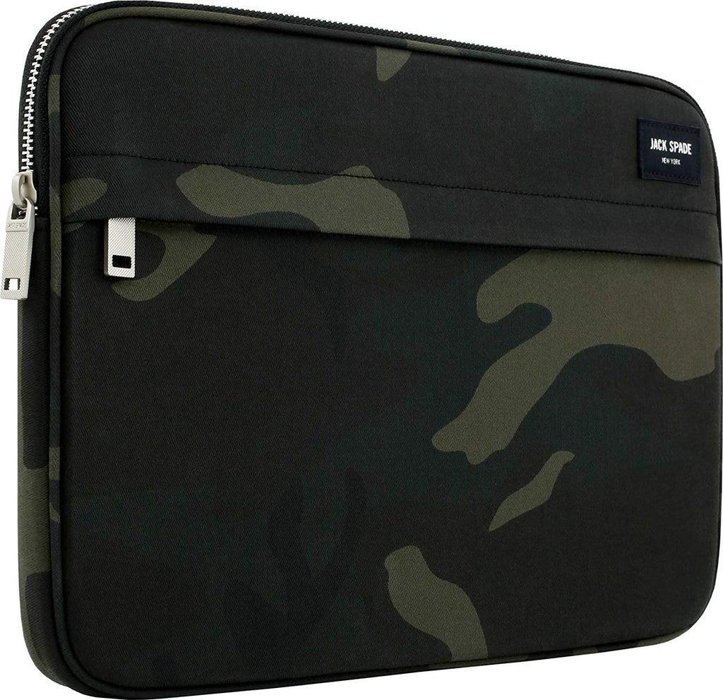 JACK SPADE NEW YORK ZIP SLEEVE CASE FOR DEVICES UPTO 13 INCH - CAMO WAX Australia Stock