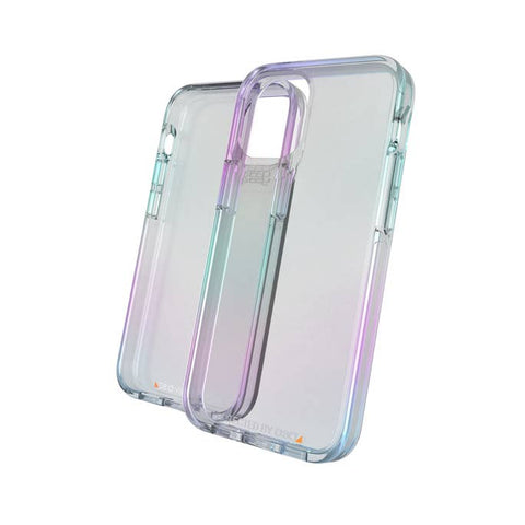 "Place to buy online iPhone 12 Pro/12 (6.1"") Crystal Palace D30 Rugged Slim Case From GEAR4 - Iridescent with free shipping Australia wide."