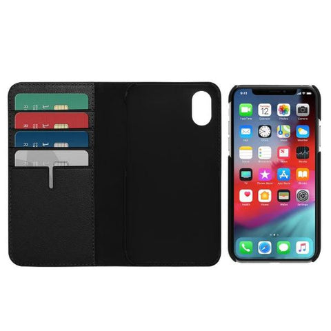 Get the latest stock LEATHER WALLET CARD FOLIO CASE FOR IPHONE XS MAX - BLACK COLOUR FROM TUMI with free shipping online.