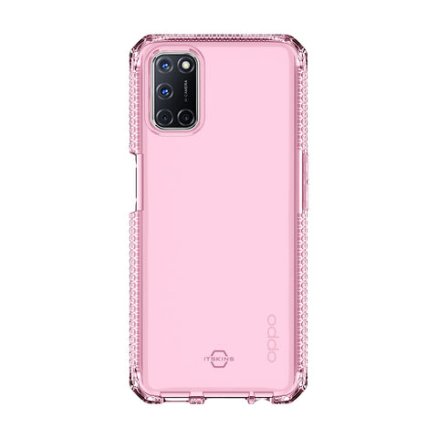 oppo a72 oppo a52 pink clear case from itskins. buy online with free shipping australia wide
