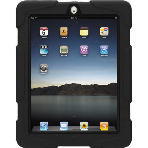 hot sale online cfd43 f9eb9 Griffin Survivor All Terrain Extreme Rugged case for iPad 4/3/2 - Black